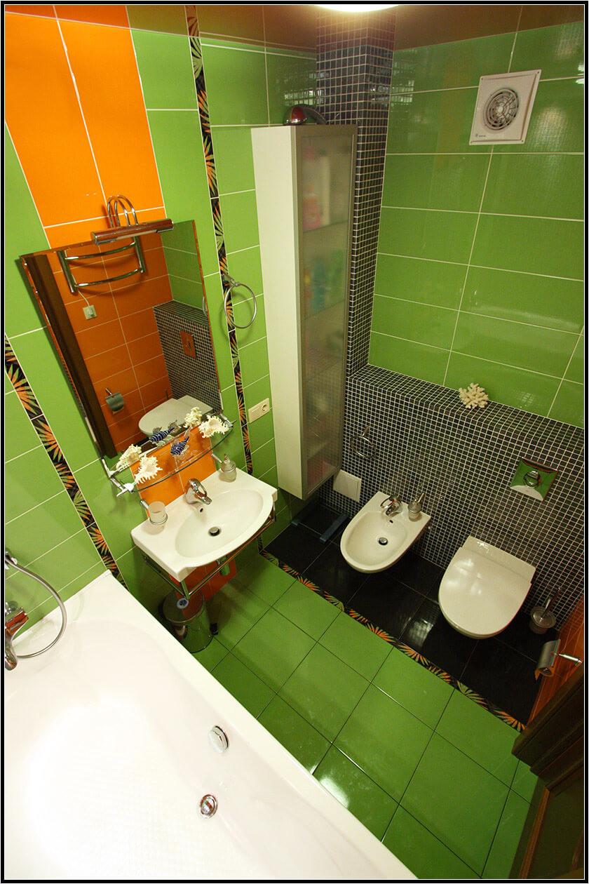 Простой ремонт в ванной комнате своими руками 17